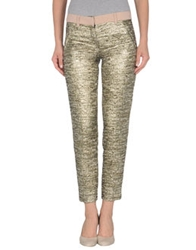 Ndegree 21 Casual Pants Gold