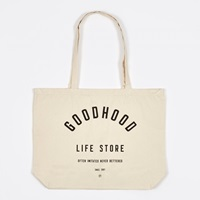 Goods By Goodhood Life Store Tote Bag Natural