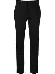 Incotex Front Pleat Trousers Black
