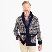 J.Crew Belted Shawl Collar Cardigan Sweater