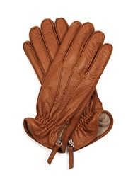Want Les Essentiels Chopin Side Zip Leather Gloves