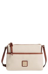 Dooney And Bourke 'Ginger' Leather Crossbody Pouchette Green Mint