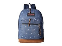 Jansport Right Pack Expressions Turkish Ocean Hashtag Doodad Backpack Bags Blue