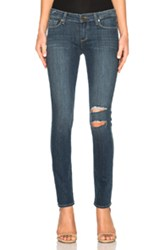 Paige Denim Skyline Ankle Peg In Blue