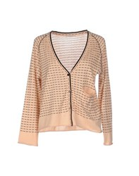Devotion Knitwear Cardigans Women Light Pink