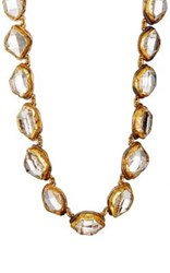 Judy Geib Women's Oval Link Necklace Gold