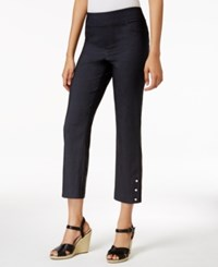 Jm Collection Pull On Cropped Pants Only At Macy's Waverly Denim