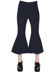 Ellery Flared Stretch Wool Pants