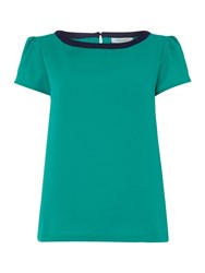 Dickins And Jones Shell Top Green