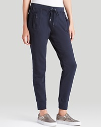 Joe's Jeans Pants Off Duty Cata Rogue Zip Jogger Navy