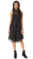 Haute Hippie Romance Dress Black