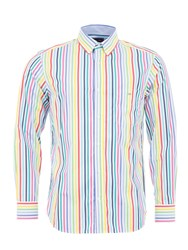 Eden Park Poplin Shirt Multi Coloured