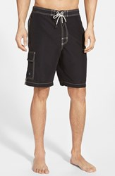 Men's Tommy Bahama 'Baja Poolside' Board Shorts Black