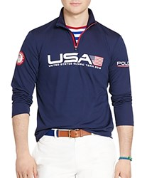 Polo Ralph Lauren Team Usa Custom Fit Rugby Shirt French Navy