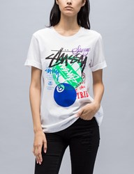 Stussy Stamped Cuffed Crew T Shirt