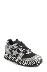 Stella Mccartney Women's Star Woven Espadrille Sneaker
