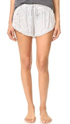 Honeydew Intimates Just A Dream Lounge Shorts Cream Marble