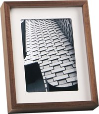 Cb2 Walnut 5X7 Picture Frame