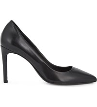 Maje Freya Leather Courts Black