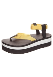 Teva Flatform Universal Platform Sandals Golden Poppy Yellow