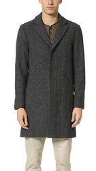 Shades Of Grey Overcoat Static