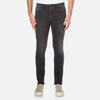 Calvin Klein Men's Super Skinny 5 Pocket Jeans Elastic Black
