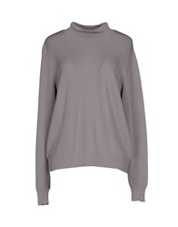 Selected Femme Knitwear Turtlenecks Women Grey