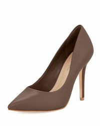 Bcbgmaxazria Opia Leather Pointed Toe Pump Nude
