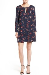 Cupcakes And Cashmere Women's 'Hazel' Long Sleeve Shift Dress