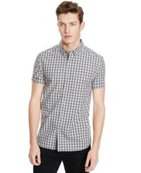 Kenneth Cole Reaction Plaid Shirt