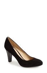 Geox 'Marie Claire' Suede Pump Women Black