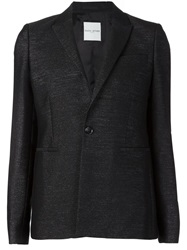 Each X Other Single Button Blazer Black