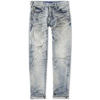 Denim By Vanquish And Fragment Five Years Tapered Jean Blue