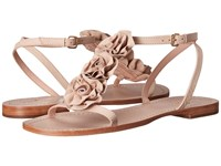 Kate Spade Caryl Pale Pink Soft Vacchetta Women's Dress Sandals Neutral