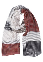 Marc O'polo Scarf Combo Dark Red