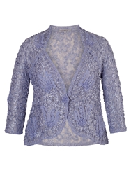 Chesca Lilac Lace Cornelli Jacket Purple
