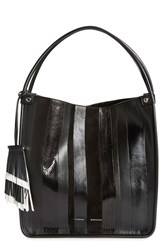 Proenza Schouler 'Medium Exotic Stripe' Genuine Snakeskin And Leather Tote