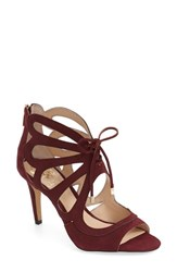 Vince Camuto Women's 'Calivia' Sandal Raspberry Suede