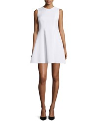 Red Valentino Clean Cut Fit And Flare Dress Women's Size 42 4 White