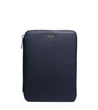Michael Kors Saffiano Leather Mini Tablet Case For Ipad Mini Navy