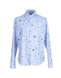 The Editor Shirts Shirts Men Sky Blue