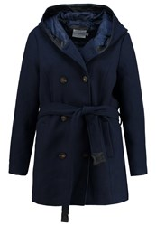 Junarose Jrommi Short Coat Black Iris Dark Blue