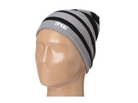 Neff Daily Stripe Beanie Grey Black Beanies Gray