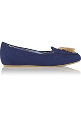 Charles Philip Olimpia Canvas Loafers
