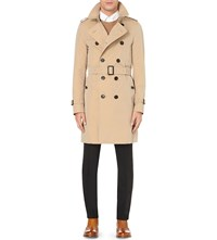 Burberry The Sandringham Cotton Twill Trench Coat Brown