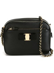 Salvatore Ferragamo 'Lydia' Crossbody Bag Black