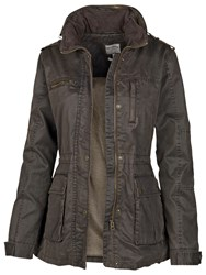 Fat Face Sussex Four Pocket Shell Jacket Chocolate