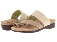Munro American Aries Natural Fabric Women's Sandals Neutral