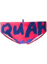 Dsquared2 Logo Swim Trunks