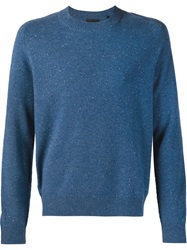 Atm Crew Neck Sweater Blue